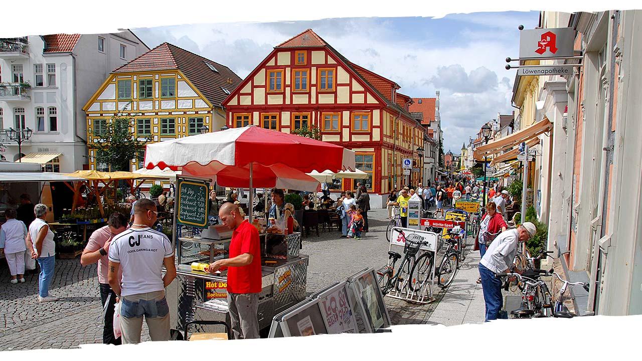 Waren Müritz am Markt Fewo Vieling